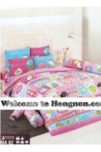 ชุดเครื่องนอน ผ้าห่มนวม ชุดผ้าปูที่นอนโตโต้  MA02