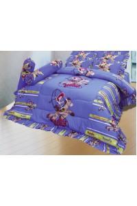 ชุดเครื่องนอน ผ้าห่มนวม ชุดผ้าปูที่นอนซาติน ลายการ์ตูนลิขสิทธิ์ C064 (Toy Story)