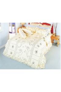 ชุดเครื่องนอน ผ้าห่มนวม ชุดผ้าปูที่นอนซาติน 519