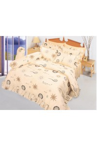 ชุดเครื่องนอน ผ้าห่มนวม ชุดผ้าปูที่นอนซาติน 537