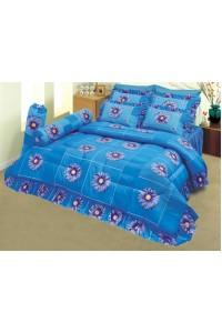 ชุดเครื่องนอน ผ้าห่มนวม ชุดผ้าปูที่นอนซาติน 588