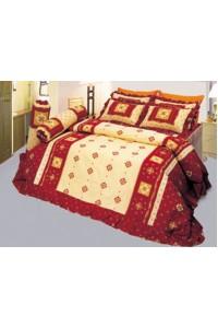 ชุดเครื่องนอน ผ้าห่มนวม ชุดผ้าปูที่นอนซาติน 593