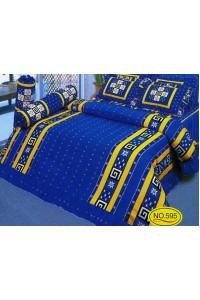 ชุดเครื่องนอน ผ้าห่มนวม ชุดผ้าปูที่นอนซาติน 595