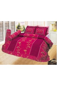 ชุดเครื่องนอน ผ้าห่มนวม ชุดผ้าปูที่นอนซาติน 620