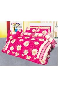 ชุดเครื่องนอน ผ้าห่มนวม ชุดผ้าปูที่นอนซาติน 632