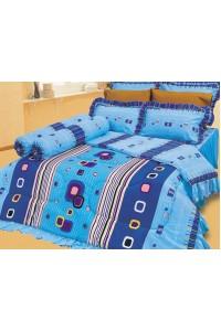 ชุดเครื่องนอน ผ้าห่มนวม ชุดผ้าปูที่นอนซาติน 643