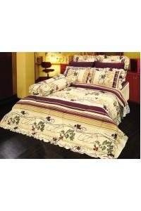 ชุดเครื่องนอน ผ้าห่มนวม ชุดผ้าปูที่นอนซาติน 645