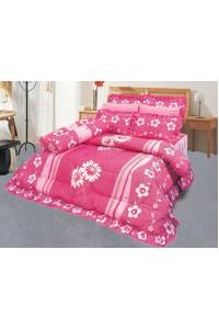 ชุดเครื่องนอน ผ้าห่มนวม ชุดผ้าปูที่นอนซาติน 647