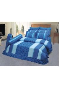 ชุดเครื่องนอน ผ้าห่มนวม ชุดผ้าปูที่นอนซาติน 652