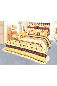 ชุดเครื่องนอน ผ้าห่มนวม ชุดผ้าปูที่นอนซาติน 653