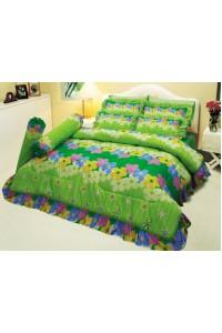 ชุดเครื่องนอน ผ้าห่มนวม ชุดผ้าปูที่นอนซาติน 670
