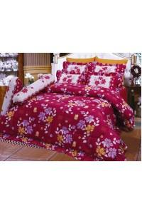 ชุดเครื่องนอน ผ้าห่มนวม ชุดผ้าปูที่นอนซาติน 678