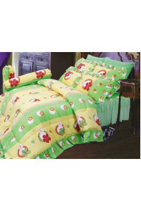 ชุดเครื่องนอน ผ้าห่มนวม ชุดผ้าปูที่นอนซาติน 680