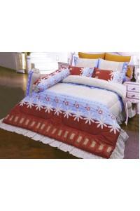 ชุดเครื่องนอน ผ้าห่มนวม ชุดผ้าปูที่นอนซาติน 681