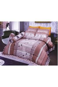 ชุดเครื่องนอน ผ้าห่มนวม ชุดผ้าปูที่นอนซาติน 688
