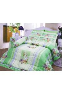 ชุดเครื่องนอน ผ้าห่มนวม ชุดผ้าปูที่นอนซาติน 693