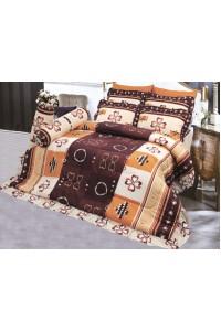 ชุดเครื่องนอน ผ้าห่มนวม ชุดผ้าปูที่นอนซาติน 694
