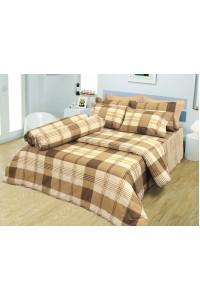 ชุดเครื่องนอน ผ้าห่มนวม ชุดผ้าปูที่นอนซาติน D17