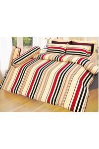 ชุดเครื่องนอน ผ้าห่มนวม ชุดผ้าปูที่นอนซาติน D18