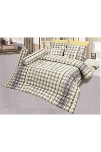 ชุดเครื่องนอน ผ้าห่มนวม ชุดผ้าปูที่นอนซาติน D24