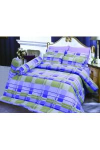 ชุดเครื่องนอน ผ้าห่มนวม ชุดผ้าปูที่นอนซาติน D25