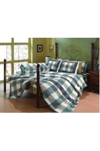 ชุดเครื่องนอน ผ้าห่มนวม ชุดผ้าปูที่นอนซาติน Premier P016