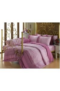 ชุดเครื่องนอน ผ้าห่มนวม ชุดผ้าปูที่นอนซาติน Premier P067