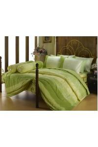 ชุดเครื่องนอน ผ้าห่มนวม ชุดผ้าปูที่นอนซาติน Premier P070