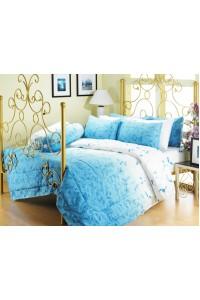 ชุดเครื่องนอน ผ้าห่มนวม ชุดผ้าปูที่นอนซาติน Premier P075