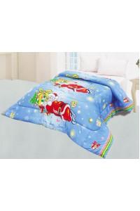ชุดเครื่องนอน ผ้าห่มนวมเอนกประสงค์ซาติน รหัส687