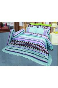 ชุดเครื่องนอน ผ้าห่มนวม ชุดผ้าปูที่นอนซาติน 699