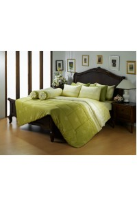 ชุดเครื่องนอน ผ้าห่มนวม ชุดผ้าปูที่นอนซาติน Premier PC02