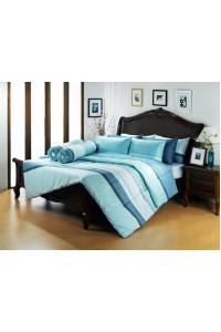 ชุดเครื่องนอน ผ้าห่มนวม ชุดผ้าปูที่นอนซาติน Premier PC03