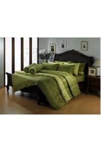 ชุดเครื่องนอน ผ้าห่มนวม ชุดผ้าปูที่นอนซาติน Premier PC06