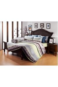 ชุดเครื่องนอน ผ้าห่มนวม ชุดผ้าปูที่นอนซาติน Premier PC08