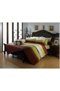 ชุดเครื่องนอน ผ้าห่มนวม ชุดผ้าปูที่นอนซาติน Premier PC09