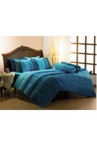 ชุดเครื่องนอน ผ้าห่มนวม ชุดผ้าปูที่นอนซาติน Premier PC12