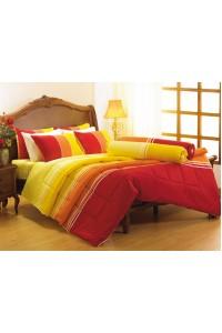 ชุดเครื่องนอน ผ้าห่มนวม ชุดผ้าปูที่นอนซาติน Premier PC13