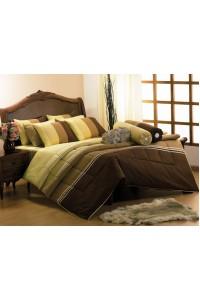 ชุดเครื่องนอน ผ้าห่มนวม ชุดผ้าปูที่นอนซาติน Premier PC15