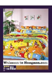 ชุดเครื่องนอน ผ้าห่มนวม ชุดผ้าปูที่นอนโตโต้  TT198