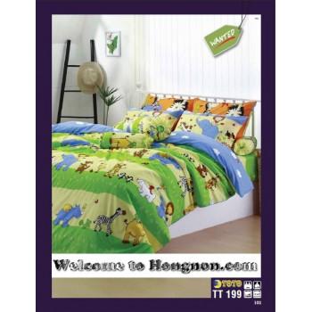 ชุดเครื่องนอน ผ้าห่มนวม ชุดผ้าปูที่นอนโตโต้  TT199
