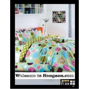 ชุดเครื่องนอน ผ้าห่มนวม ชุดผ้าปูที่นอนโตโต้  TT224