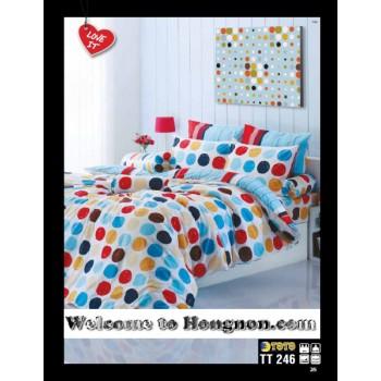 ชุดเครื่องนอน ผ้าห่มนวม ชุดผ้าปูที่นอนโตโต้  TT246