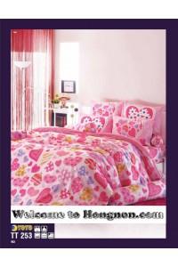 ชุดเครื่องนอน ผ้าห่มนวม ชุดผ้าปูที่นอนโตโต้  TT253