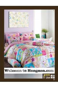 ชุดเครื่องนอน ผ้าห่มนวม ชุดผ้าปูที่นอนโตโต้  TT254