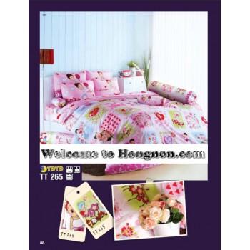 ชุดเครื่องนอน ผ้าห่มนวม ชุดผ้าปูที่นอนโตโต้  TT265