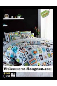 ชุดเครื่องนอน ผ้าห่มนวม ชุดผ้าปูที่นอนโตโต้  TT266