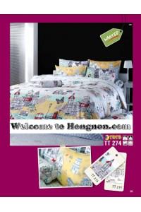 ชุดเครื่องนอน ผ้าห่มนวม ชุดผ้าปูที่นอนโตโต้  TT274