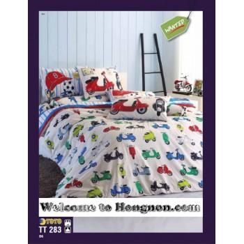ชุดเครื่องนอน ผ้าห่มนวม ชุดผ้าปูที่นอนโตโต้  TT283