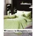 ชุดเครื่องนอน ผ้าห่มนวม ชุดผ้าปูที่นอนโตโต้ TOTO สีเขียว